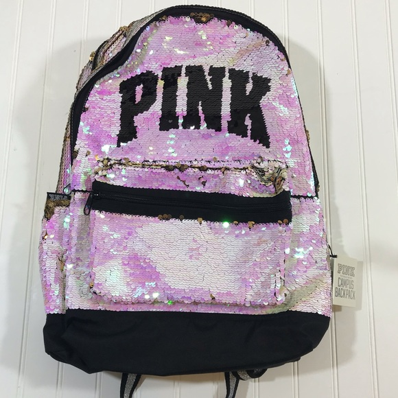 104943f423e Bling Victoria s Secret Pink Campus Backpack